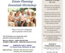 Estate Planning Workshop Flyer